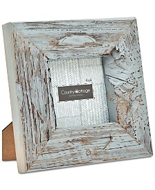 "Godinger Philip Whitney 4"" x 4"" Gray Barn Square Picture Frame"