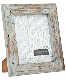 "Godinger Philip Whitney 8"" x 10"" Gray Barn Picture Frame"