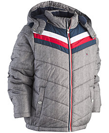 Tommy Hilfiger Big Boys David Hooded Puffer Jacket