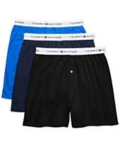 0fc5fcf32c457 Tommy Hilfiger Men s 3-Pk. Classic Knit Cotton Boxers