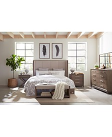 Rachael Ray Highline Upholstered Bedroom Furniture Collection