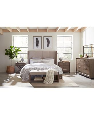 Furniture Rachael Ray Highline Upholstered Bedroom