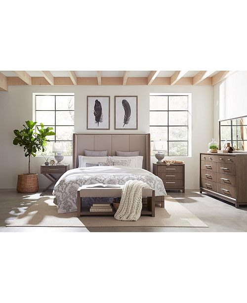 Furniture Rachael Ray Highline Upholstered Bedroom Furniture Collection