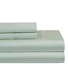 Solid 4-Pc. Full  Sheet Set, 400 Thread Count Cotton Sateen