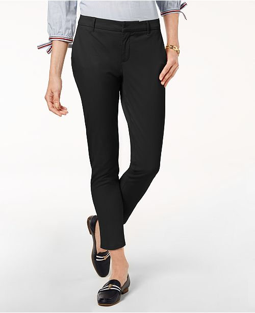 db1d5661 Tommy Hilfiger Skinny Chino Pants, Created for Macy's & Reviews ...