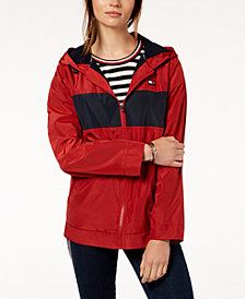 Tommy Hilfiger Sport Hooded Windbreaker Jacket, Created for Macy's