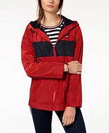 Tommy Hilfiger Sport Hooded Windbreaker Jacket, Created for Macy's
