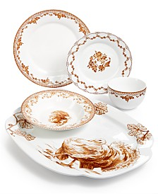 CLOSEOUT! Martha Stewart Collection Harvest Dinnerware Collection, Created for Macy's