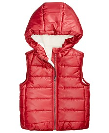 186e9b3a2a75 First Impressions Baby Boys   Girls Metallic Puffer Jacket