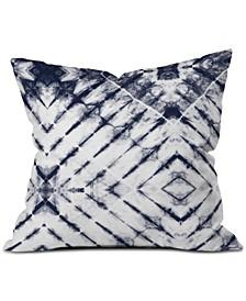 Little Arrow Design Co Shibori Tie-Dyed Throw Pillow