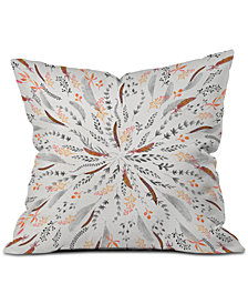 Deny Designs Iveta Abolina Feather Roll Throw Pillow