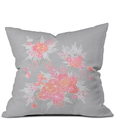 Deny Designs Iveta Abolina Coral Nostalgia Throw Pillow