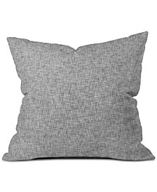 Deny Designs Holli Zollinger Gray Light Throw Pillow