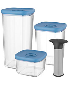 BergHOFF Leo Collection 4-Pc. Vacuum Food Storage Set