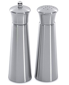 Essentials Collection Pyramid Stainless Steel Salt & Pepper Set