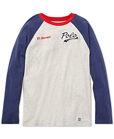 Polo Ralph Lauren Big Boys Cotton Baseball T-Shirt