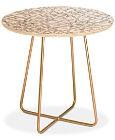 Schatzi Brown Tangier Sand Round Side Table