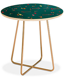 Deny Designs Iveta Abolina Morocco On My Mind III Round Side Table