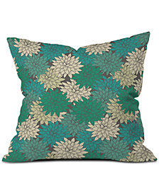 Deny Designs Holli Zollinger Flora Minted Throw Pillow
