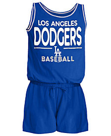 5th & Ocean Los Angeles Dodgers Sparkle Romper, Girls (4-16)