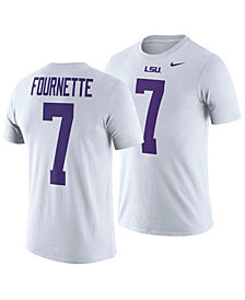Nike Men's Leonard Fournette LSU Tigers Name and Number T-Shirt
