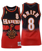363b3fe2885 Mitchell   Ness Men s Steve Smith Atlanta Hawks Hardwood Classic Swingman  Jersey