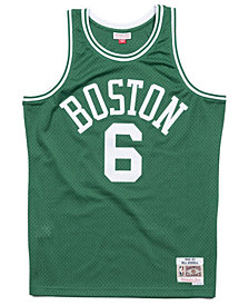 Mitchell & Ness Men's Bill Russell Boston Celtics Hardwood Classic Swingman Jersey