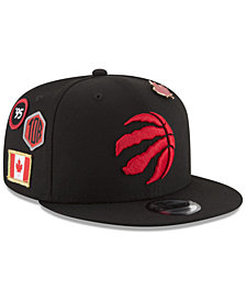 New Era Boys' Toronto Raptors On-Court Collection 9FIFTY Snapback Cap