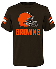 Outerstuff Cleveland Browns Goal Line T-Shirt, Big Boys (8-20)