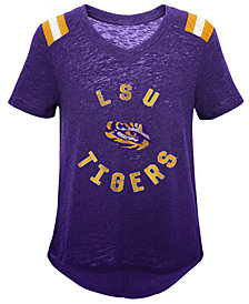 Outerstuff LSU Tigers Retro Block T-Shirt, Girls (4-16)