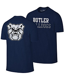 Retro Brand Men's Butler Bulldogs Team Stacked Dual Blend T-Shirt