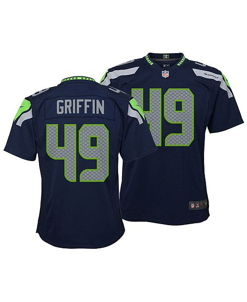 6fd6d19a3 Nike Shaquem Griffin Seattle Seahawks Game Jersey