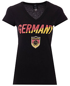 Fifth Sun Women's Germany National Team Gym Wedge World Cup T-Shirt