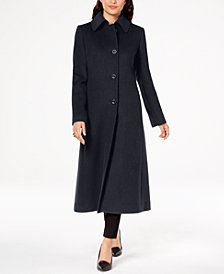 Jones New York Petite Maxi Walker Coat