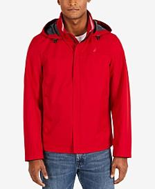 Men's Waterproof Packable Hooded Bomber Jacket