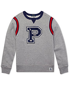 Polo Ralph Lauren Toddler Boys French Terry Cotton Sweatshirt