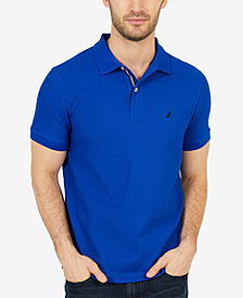Nautica Men's Solid Slim Fit Polo