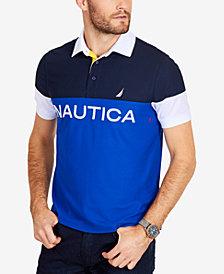 Nautica Men's Classic Colorblocked Classic Fit Polo