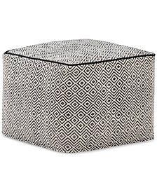 Orista Square Pouf, Quick Ship