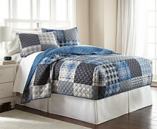 Micro Flannel® Full Fitted Quilt Mini Set