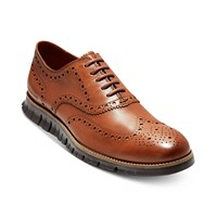 Cole Haan ZeroGrand Wingtip Leather Men's Oxfords Shoes