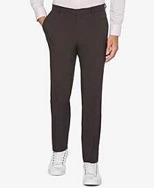 Extra Slim-Fit Solid Water Repellent Men's Dress Pants