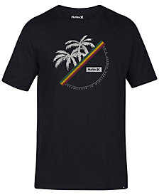 Hurley Men's Jamaica Vibes Graphic T-Shirt