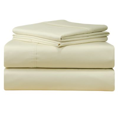 Solid 4-Pc. California King Extra Deep Sheet Set, 500 Thread Count Cotton Sateen