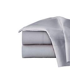 Pointehaven Solid Pillowcase Pair, 620 Thread Count Cotton