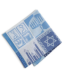 "Homewear Hanukkah Nights 18"" x 18"" Napkin, Set of 4"