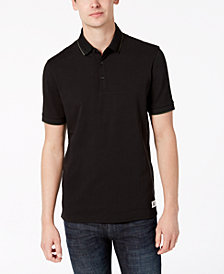 A|X Armani Exchange Men's Camo-Detail Slim Fit Polo