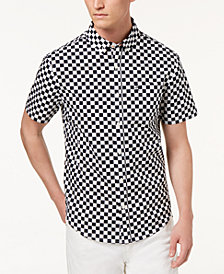 Original Penguin Men's Slim-Fit Checkered Shirt