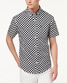 Original Penguin Men's Slim-Fit Checkered Shirt