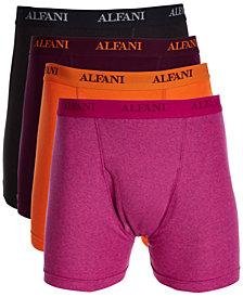 Alfani Men's 4-Pk. Cotton Boxer Briefs, Created for Macy's